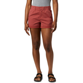 Columbia Firwood Camp II Shorts Dames, rood